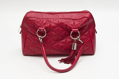 Photograph - Red Handbag by Mick House