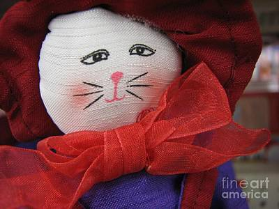 Photograph - Red Hat Cat by Chris Anderson