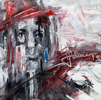 Painting - Red Hat by Jim Vance