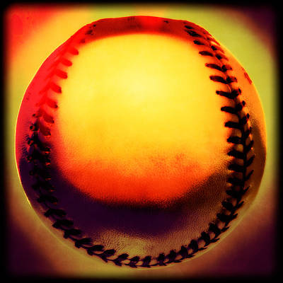 Photograph - Red Hot Baseball by Yo Pedro