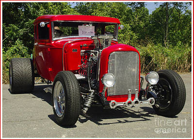 Photograph - Red Hot Ford by James C Thomas