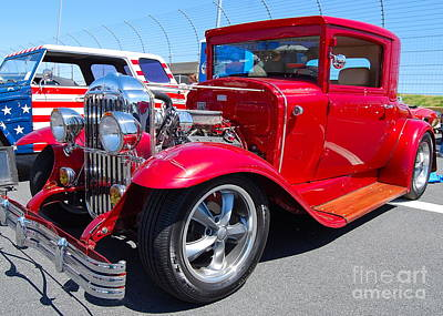 Photograph - Red Hot Rod by Mark Spearman