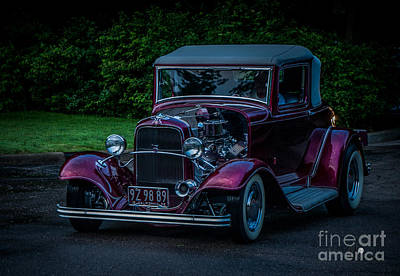 Photograph - Red Hot Rod by Ronald Grogan