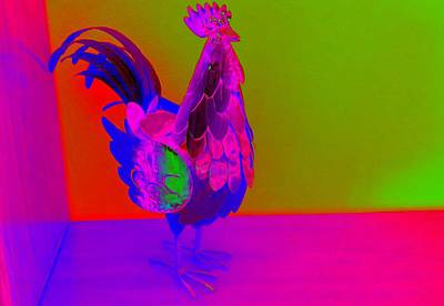 Photograph - Red Hot Rooster by Florene Welebny