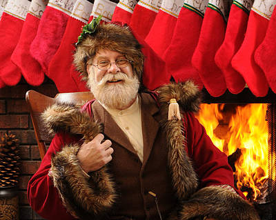 Photograph - Red Hot Santa by Don Wolf
