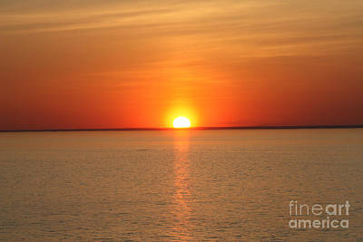 Photograph - Red-hot Sunset by John Telfer
