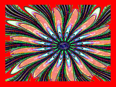 Red Intrusion Art Print by Bruce Iorio