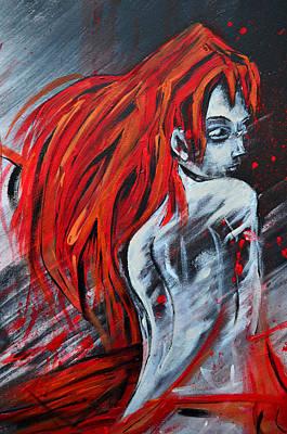 Painting - Red by Jakub DK