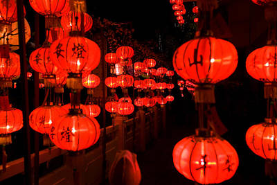 Beers On Tap - Red lanterns by Wei Seng Chen