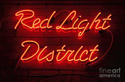 Red Light District Print by Kiril Stanchev
