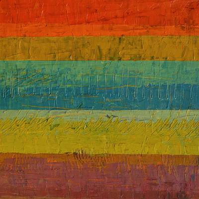 Painting - Red Line by Michelle Calkins