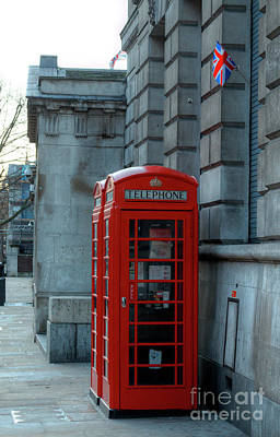 Photograph - Red London Phoneboxes by Deborah Smolinske