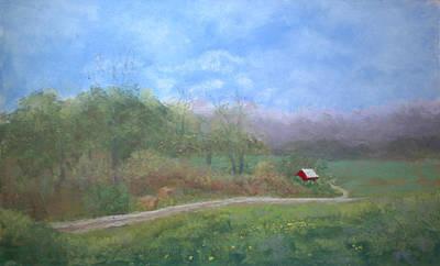 Pastel - Red by Lorraine McFarland