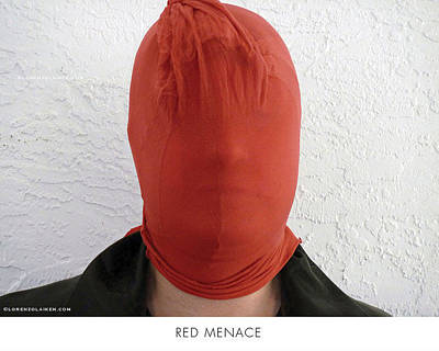 Photograph - Red Menace by Lorenzo Laiken
