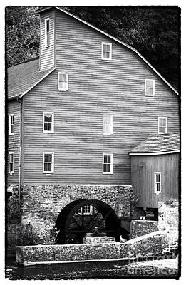 Photograph - Red Mill by John Rizzuto