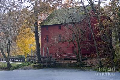 Photograph - Red Mill by Reva Dow