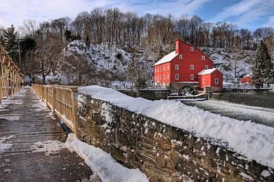 Red Mill Winter 2009 Art Print