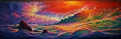 Painting - Red Mist by Joseph   Ruff