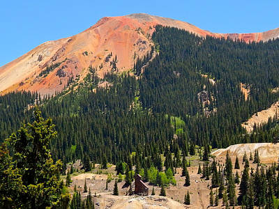 Photograph - Red Mountain by Dan Miller