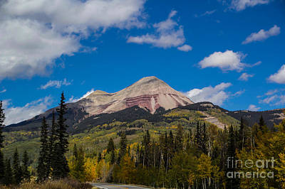 Photograph - Red Mountain Fall by Jim McCain