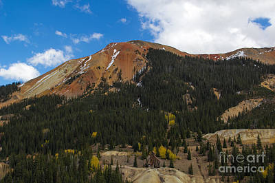 Photograph - Red Mountain Gold Mine by Jim McCain