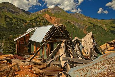 Photograph - Red Mountain Mine by Adam Jewell
