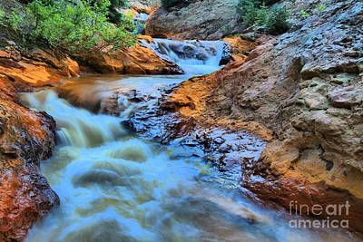 Photograph - Red Mountain Orange Creek by Adam Jewell
