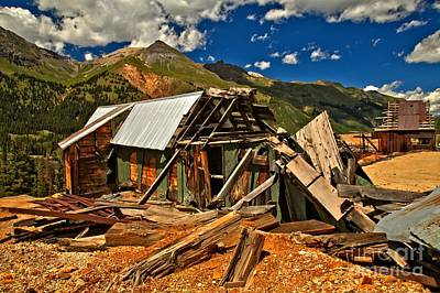 Photograph - Red Mountain Remnants by Adam Jewell