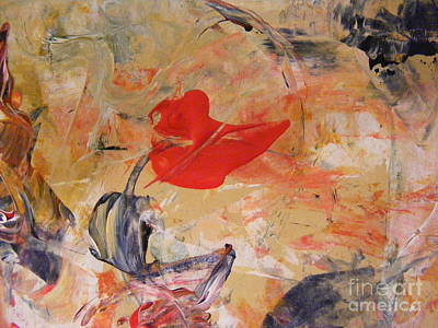 Painting - Red by Nancy Kane Chapman