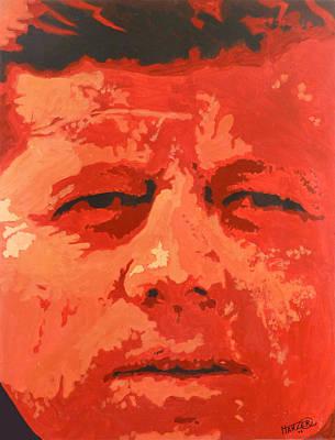 Red Nemesis Original by Jack Hanzer Susco