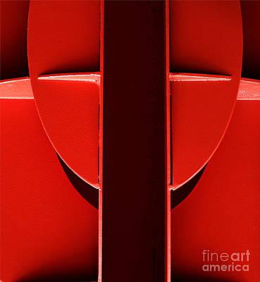 Red Art Print by Newel Hunter