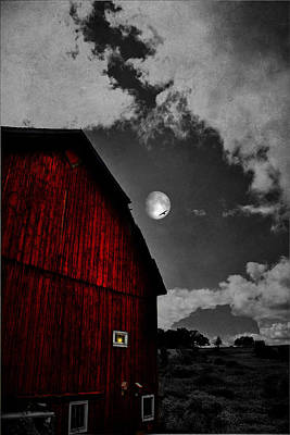 Photograph - Red Night by Emily Stauring