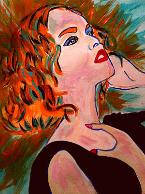 Painting - Red by Nikki Dalton