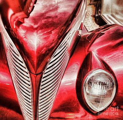 Photograph - Red Oldie by Nora Martinez