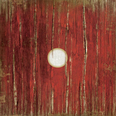 Man Cave Painting - Red One by Jennifer Pugh