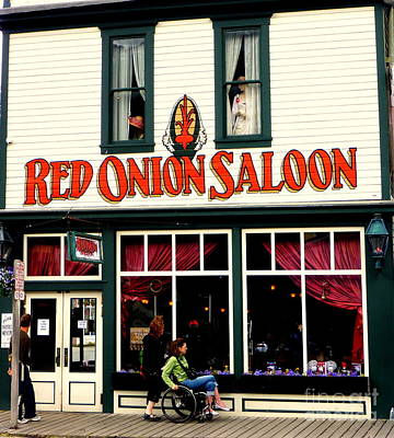 Photograph - Red Onion Saloon by John Potts