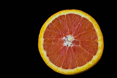 Kitchen Photograph - Red Orange Wheel by Mark McKinney