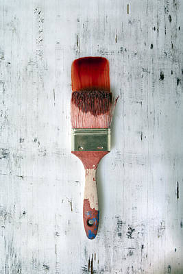 Painter Photograph - Red Paint by Joana Kruse