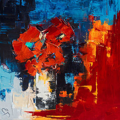 Painting - Red Passion by Elise Palmigiani