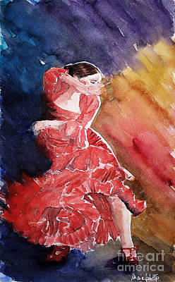Painting - Red Passion by Marisa Gabetta