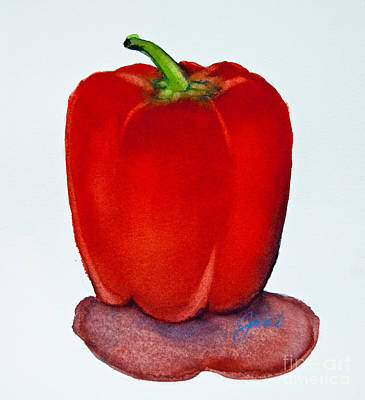 Painting - Red Pepper Study by Jani Freimann