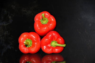 Red Peppers Stacked  Original