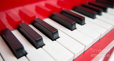 Photograph - Red Piano by Yew Kwang