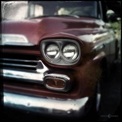 Photograph - Red Pickup by Tim Nyberg