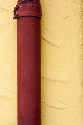 Photograph - Red Pipe by Peter Tellone