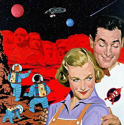 Digital Art - Red Planet  by Alfred Degens