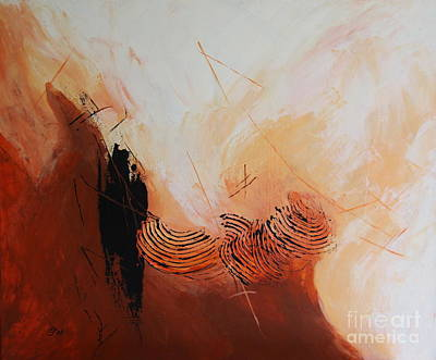 Christiane Schulze Mixed Media - Red Planet  I by Christiane Schulze Art And Photography