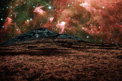 Red Planet Print by Semmick Photo