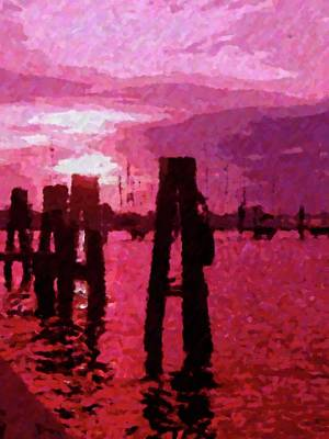 Photograph - Red  Rain by Florene Welebny