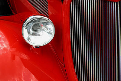 Photograph - Red Red Roadster by Jonah Gibson